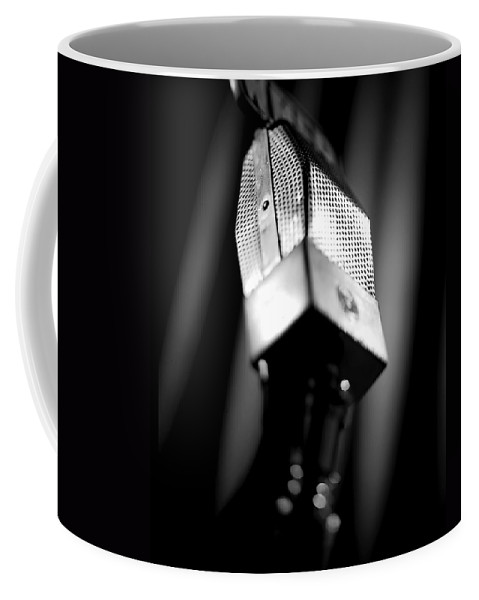 Mike Coffee Mug featuring the photograph Radio Mike by Robert Ponzoni