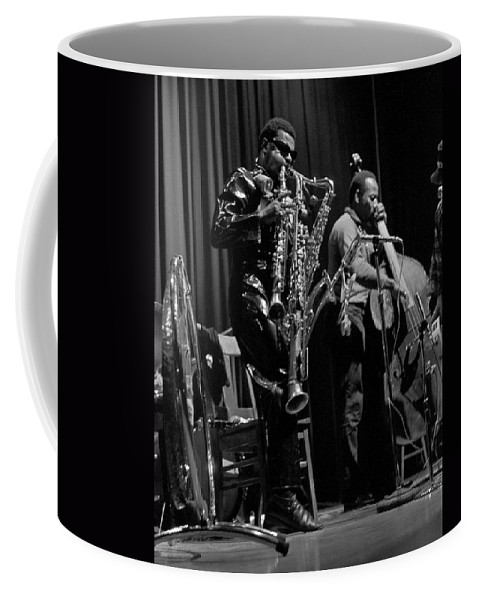 Rahsaan Roland Kirk Coffee Mug featuring the photograph Rahsaan Roland Kirk 1 by Lee Santa