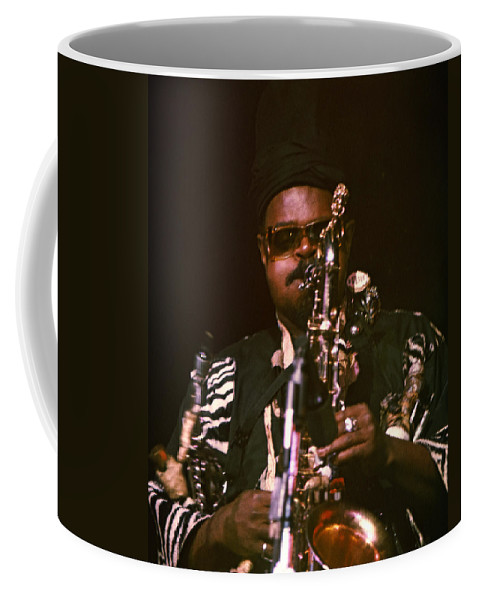 Rahsaan Roland Kirk Coffee Mug featuring the photograph Rahsaan Roland Kirk 3 by Lee Santa