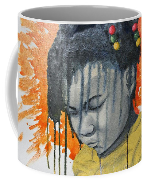 Coffee Mug featuring the painting Rain And Shine by Rufus Royster