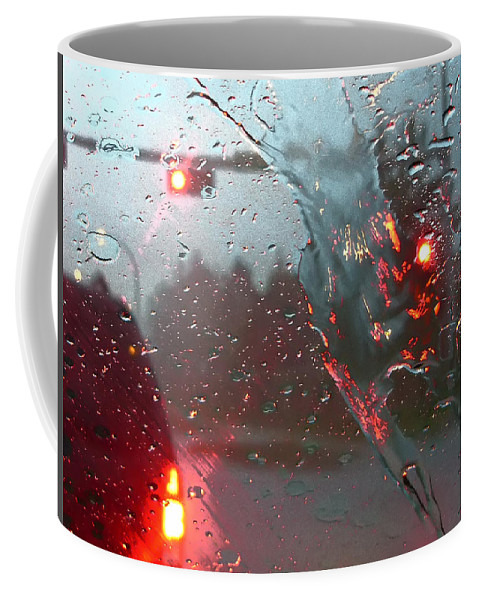 Photograph Coffee Mug featuring the photograph Rain by Rhonda McDougall
