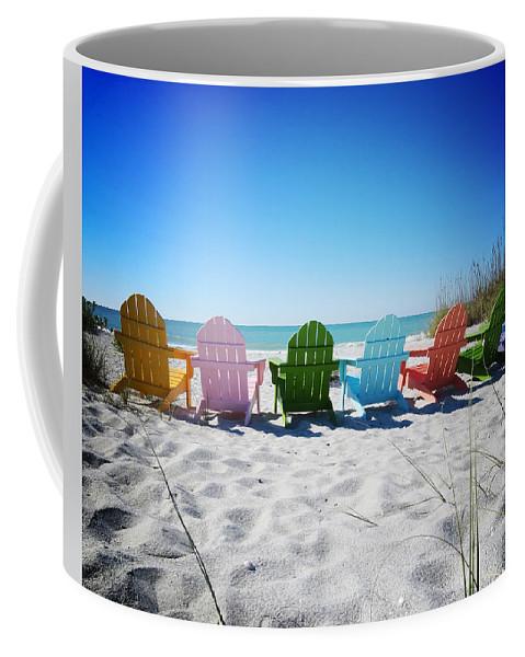Florida Coffee Mug featuring the photograph Rainbow Beach Vanilla Pop by Chris Andruskiewicz