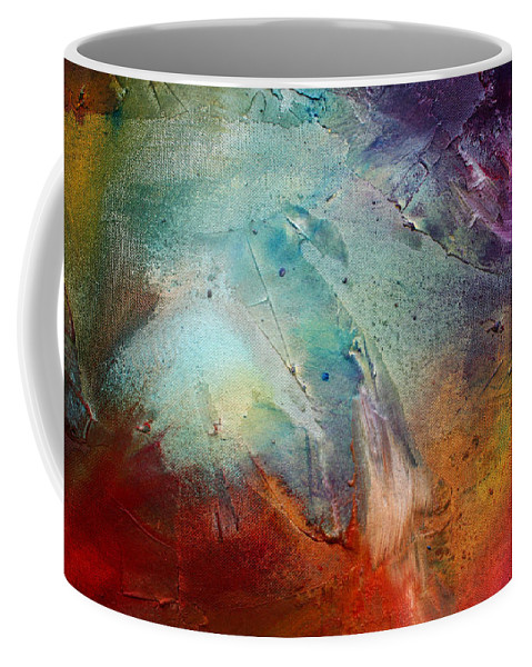 Wall Coffee Mug featuring the painting Rainbow Dreams IIi By Madart by Megan Duncanson