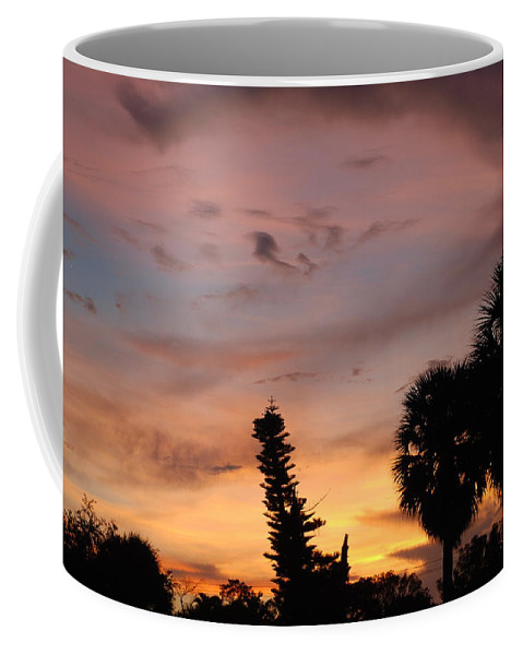 Sunset Coffee Mug featuring the photograph Rainbow Sunset by Rob Hans