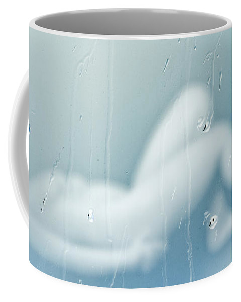 Conceptual Coffee Mug featuring the photograph Rainy Day Dream Away by Bob Orsillo