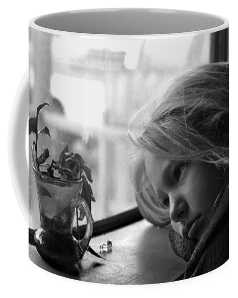 Sad Face Coffee Mug featuring the photograph Rainy Day by Peter Piatt