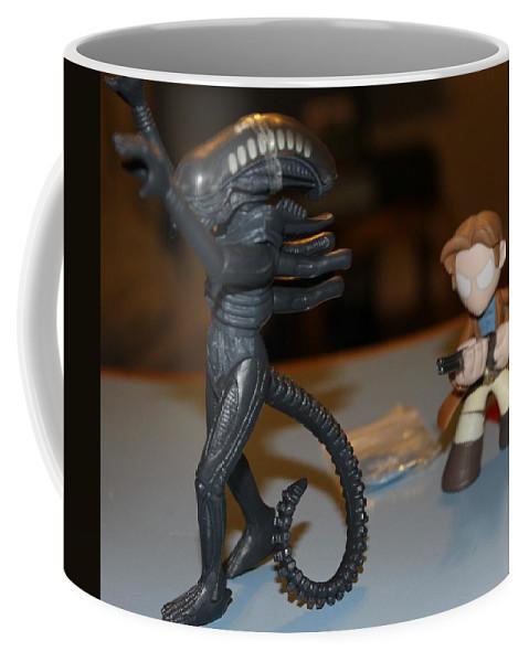 Toys Coffee Mug featuring the photograph Raise Em High by Adam Norman