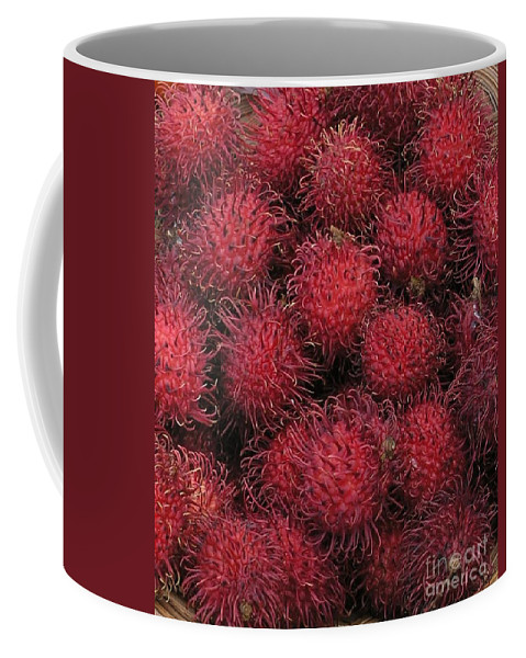 Rambutan Coffee Mug featuring the photograph Rambutan by Mary Deal