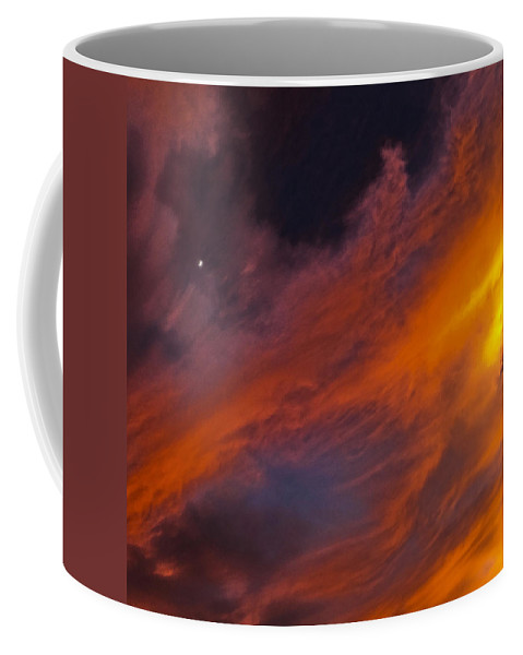 Sky Coffee Mug featuring the photograph Rampart by Mykel Davis