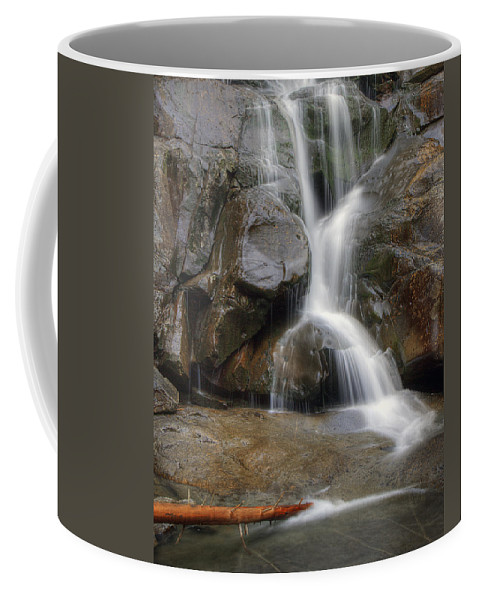 Ramsey Coffee Mug featuring the photograph Ramsey Cascades In Great Smoky Mountains National Park Tennesee by Brendan Reals