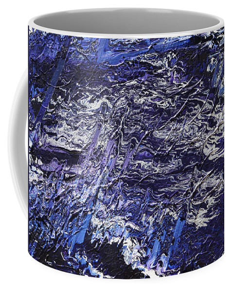 Fusionart Coffee Mug featuring the painting Rapid by Ralph White