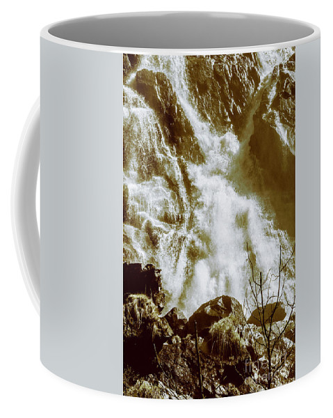 Rustic Coffee Mug featuring the photograph Rapid River by Jorgo Photography - Wall Art Gallery