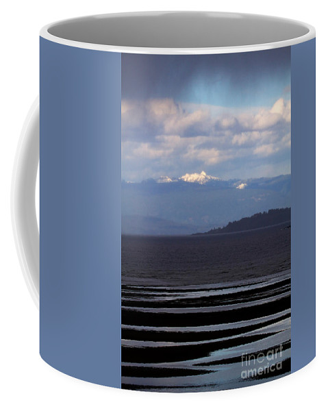 Landscape Coffee Mug featuring the photograph Rathtrevor Beach On Vancouver Island In British Columbia by Louise Heusinkveld