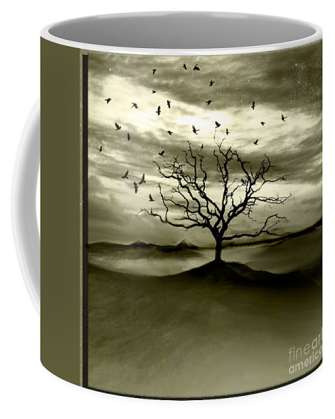 Landscape Coffee Mug featuring the photograph Raven Valley by Jacky Gerritsen