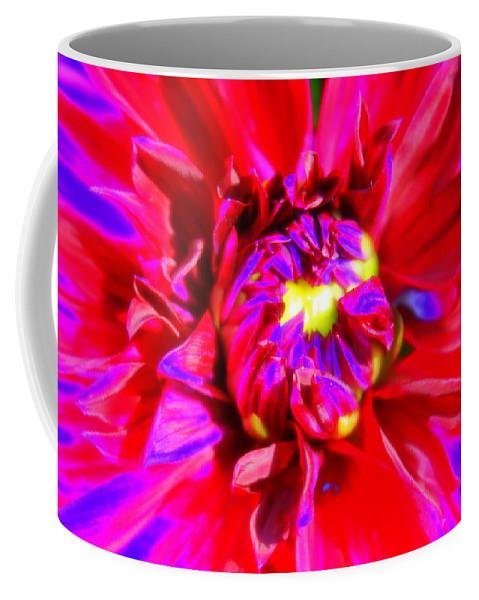 Abstract Coffee Mug featuring the photograph Raving Beauty by Deborah Crew-Johnson
