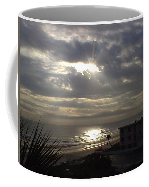 Landscape Coffee Mug featuring the photograph Ray Of Light by Charleen Treasures