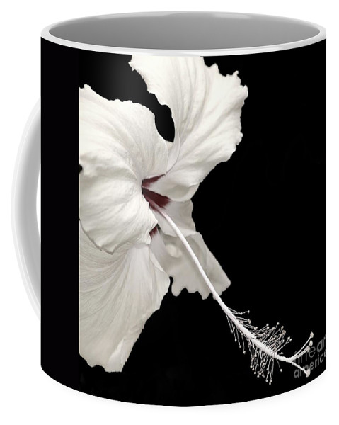 Flower Coffee Mug featuring the photograph Reach Out by Jacky Gerritsen