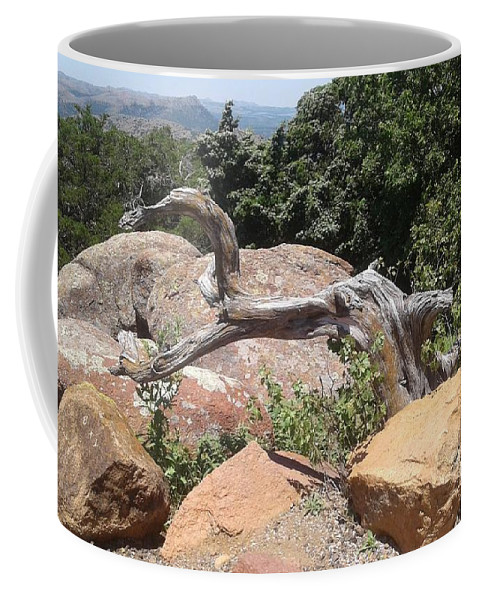 Nature Coffee Mug featuring the photograph Reaching For Summits by Mary Beth Caperton