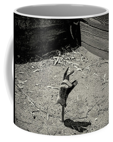 Coffee Mug featuring the photograph Reaching Out by Danny Chavez Sr