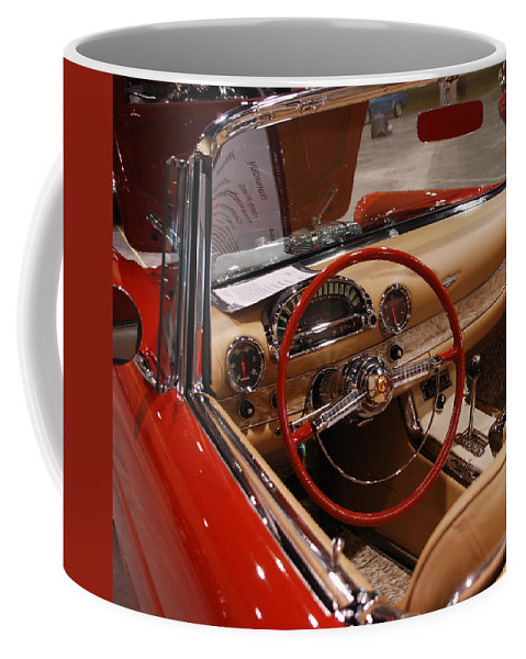 Cars Coffee Mug featuring the photograph Ready For A Ride by Susanne Van Hulst