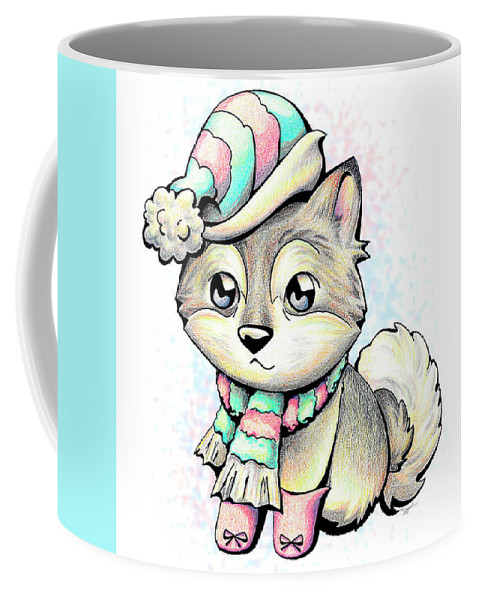 Ready For Winter Alaskan Malamute Coffee Mug For Sale By Sipporah Art And Illustration