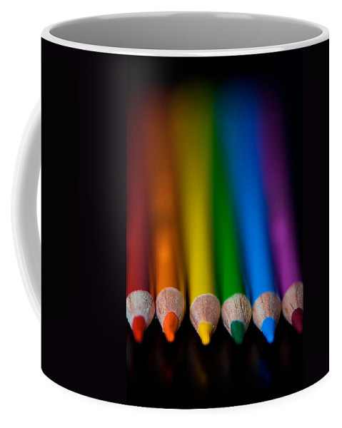 Pencil Coffee Mug featuring the photograph Ready To Begin by Lisa Knechtel