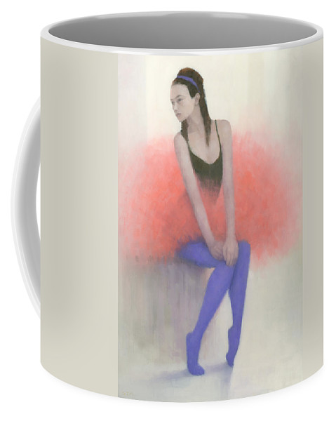 Figurative Coffee Mug featuring the painting Ready To Fly by Steve Mitchell