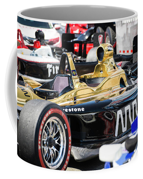 Hinchcliffe Coffee Mug featuring the photograph Ready To Race by Alex Lapidus