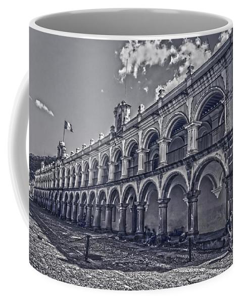 Real Palacio De Los Capitanes Generales Coffee Mug featuring the photograph Real Palacio De Los Capitanes Generales by Totto Ponce