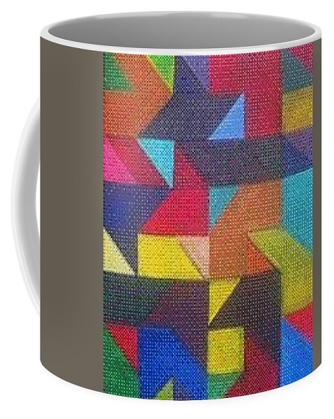 Digitalize Image Coffee Mug featuring the digital art Real Sharp by Andrew Johnson