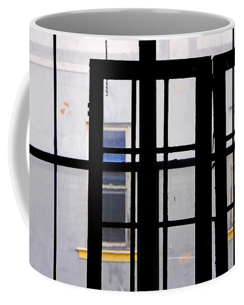 Skip Hunt Coffee Mug featuring the photograph Rear Window 1 by Skip Hunt