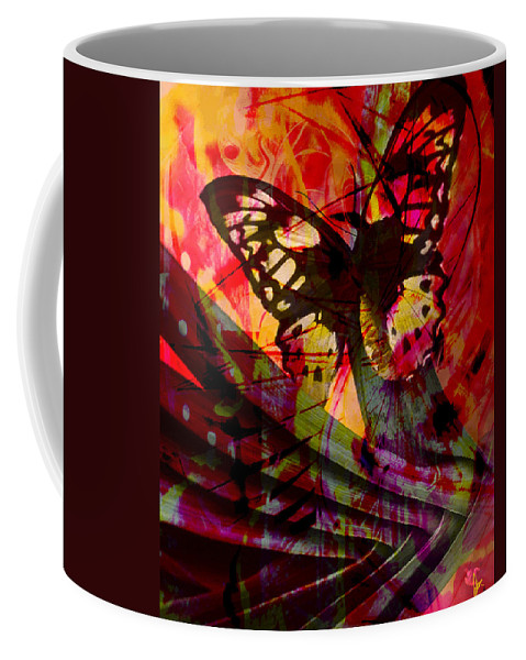 Nature Coffee Mug featuring the photograph reBirth by Ken Walker
