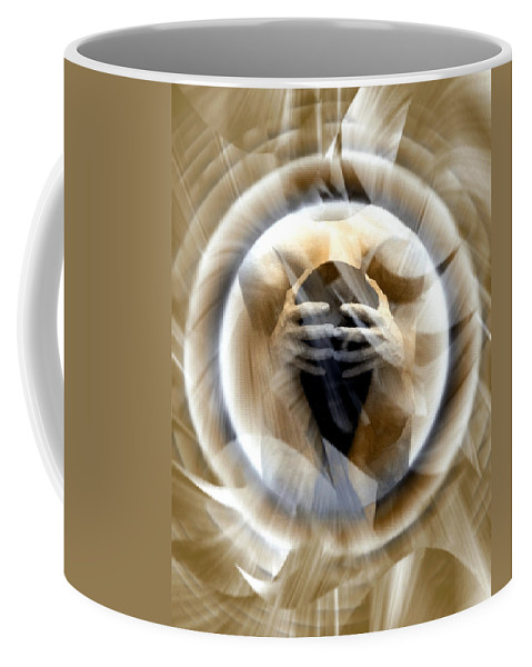 Nude Coffee Mug featuring the photograph Rebirth by Kurt Van Wagner