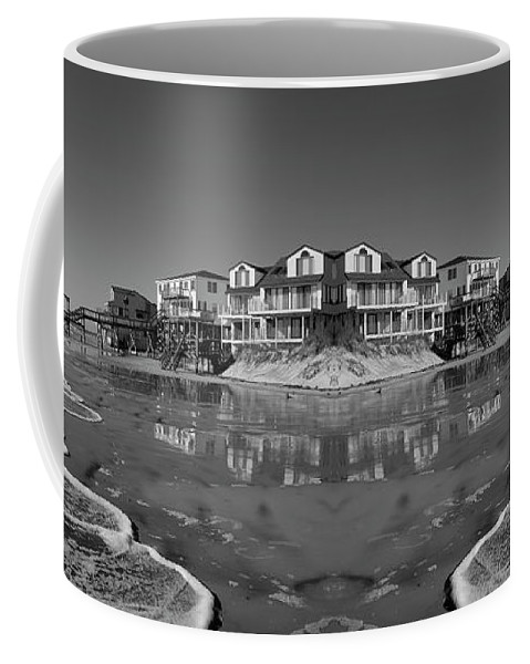 Beach Coffee Mug featuring the photograph Reception by Betsy Knapp