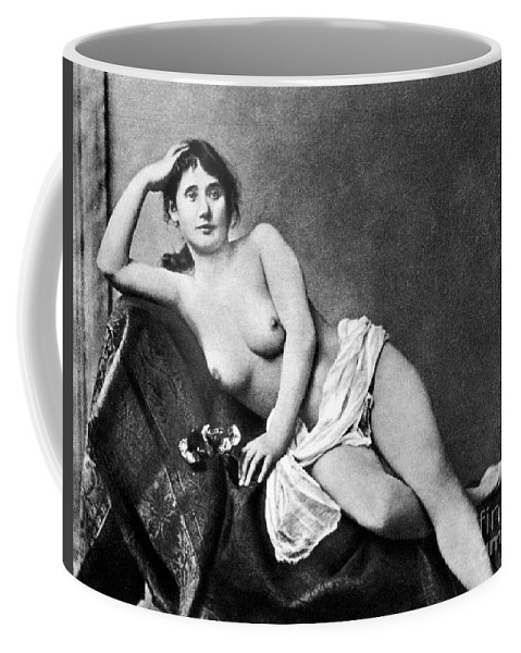 Coffee Mug featuring the painting Reclining Nude, C1885 by Granger