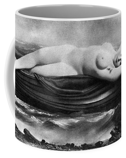 Coffee Mug featuring the painting Reclining Nude, C1895 by Granger