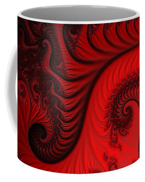 Clay Coffee Mug featuring the digital art Red Ants by Clayton Bruster