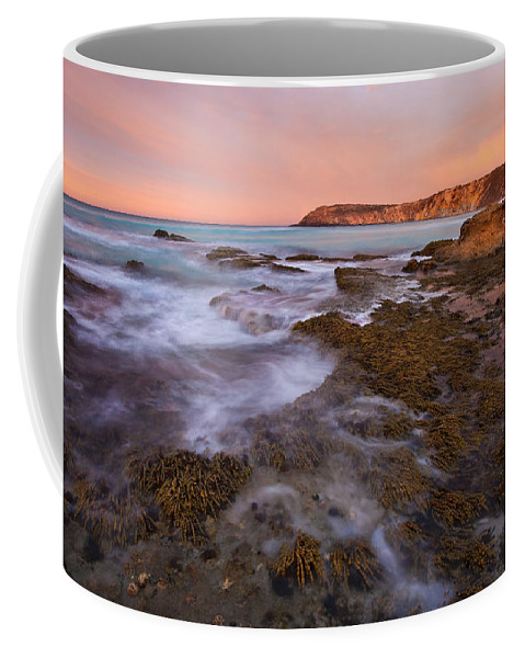 Sunrise Coffee Mug featuring the photograph Red Dawning by Mike Dawson