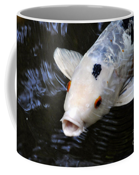 Clay Coffee Mug featuring the photograph Red Eyes by Clayton Bruster