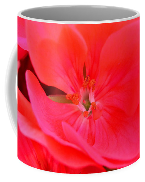 Red Hot Coffee Mug featuring the photograph Red Hot by Lisa Wooten