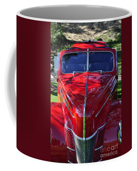 Clay Coffee Mug featuring the photograph Red Hot Rod by Clayton Bruster