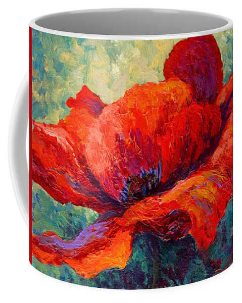Poppies Coffee Mug featuring the painting Red Poppy IIi by Marion Rose