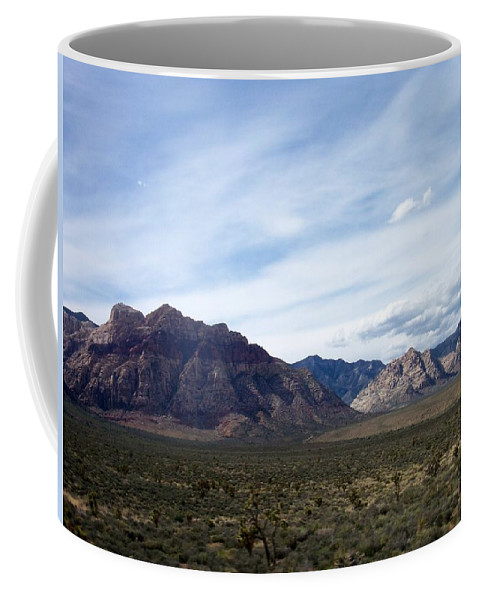 Red Rock Canyon Coffee Mug featuring the photograph Red Rock Canyon 4 by Anita Burgermeister