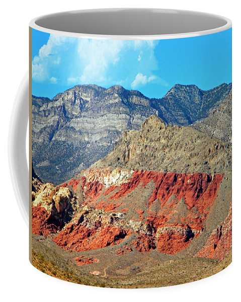 Frank Wilson Coffee Mug featuring the photograph Red Rocks Nevada by Frank Wilson