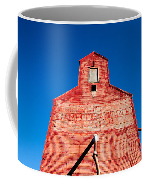 Red Coffee Mug featuring the photograph Red Roof by Todd Klassy