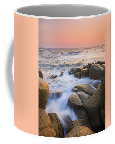 Sunrise Coffee Mug featuring the photograph Red Sky At Morning by Mike Dawson