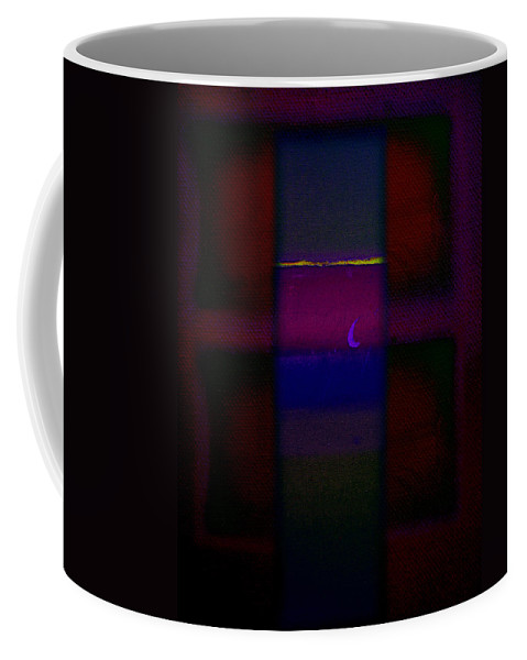 Rothko Coffee Mug featuring the painting Red Sky At Night by Charles Stuart