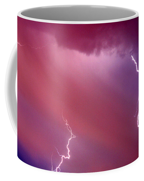 Sky Coffee Mug featuring the photograph Red Storm by Anthony Jones