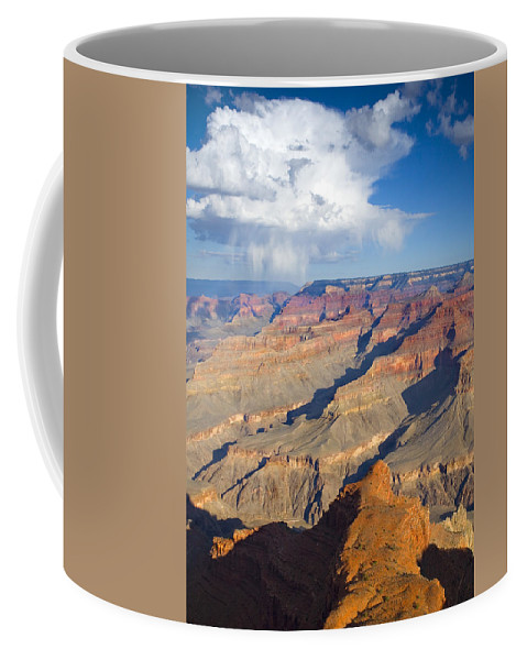 Grand Canyon Coffee Mug featuring the photograph Red Storm Rising by Mike Dawson