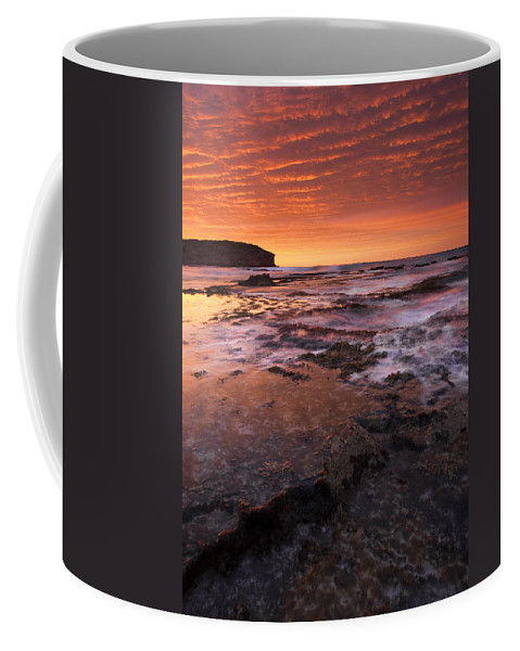 Sunrise Coffee Mug featuring the photograph Red Tides by Mike Dawson